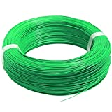 #10: Silicone Wire 18 AWG Green 1 Meter