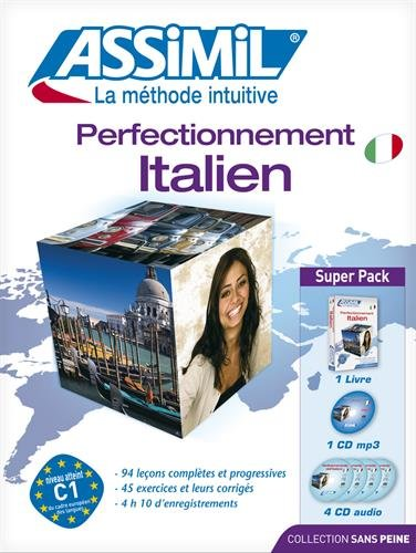 Perfectionnement italien : CD mp3 (4CD audio)