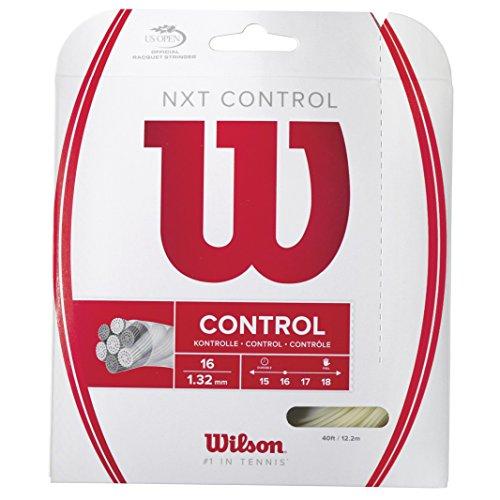 Wilson Unisex Tennissaite NXT Control, natur, 12,2 Meter, 1,32 mm, WRZ941900