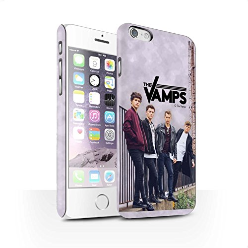 Offiziell The Vamps Hülle / Matte Snap-On Case für Apple iPhone 6 / Pack 6pcs Muster / The Vamps Fotoshoot Kollektion Sammelalbum