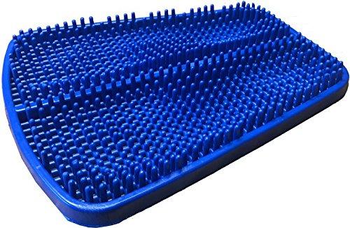 Pflegehome24® Fußreflexzonen Matte Massage Fußmassage blau