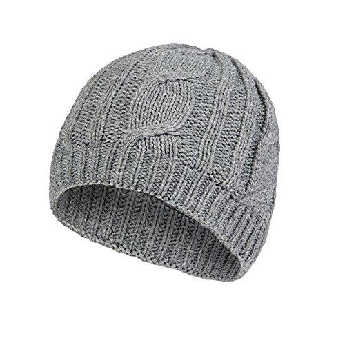 SealSkinz cable bonnet imperméable en tricot L/XL Gris - gris