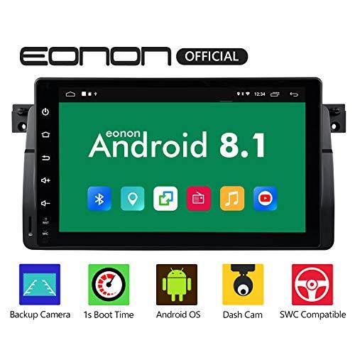 eonon Android 8.1 fit BMW E46 M3 320 325 1999 2000 2001 2002 2003 2004 22.86cm 9