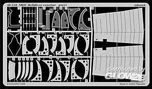 Eduard Accessories 4851830502000sb2C Helldiver Exterior para Revell Monogram/Accu Transferencia Miniatures Montar