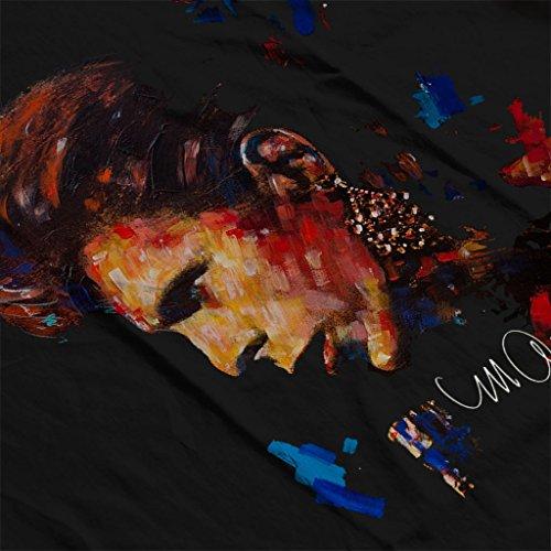 Sidney Maurer David Bowie Earring Official Women's Sweatshirt Black
