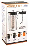 GROSCHE MADRID 4-in-1 Hot and Cold Coffee and Tea System 1500 ml, 51 oz., 12 cup capacity by GROSCHE
