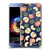 Head Case Designs Pfirsich-Muster Pfirsiche Ruckseite Hülle für Huawei Honor 8 Pro