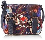 Oilily  Oilily Micro Satchel, sacs bandoulière femmes - Multicolore (Blueberry 401),...