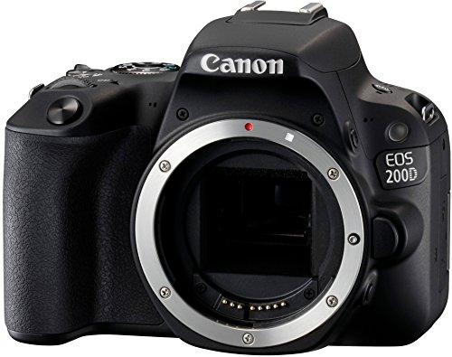 Galleria fotografica Canon EOS 200D Body Fotocamera Digitale Reflex, Nero