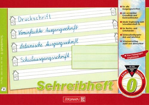 """Lernheft/Schreibheft\""""Brunnen\"""" Lin.0 / A5 quer"""