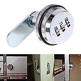 WCIC Schrank Passwort Schlösser Zink Legierung Digital Code Schlösser Security für Büro Schublade Safe Briefkasten 38mmX42mm