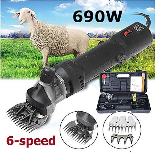 Sinbide - Tosapecore Elettrico Professionale, 690 W, per Lana di Pecore, montoni e capre...