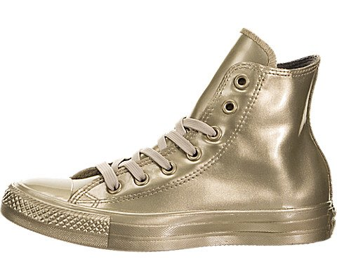 Converse Damen All Star Hi Stiefeletten, goldfarben, 35 EU