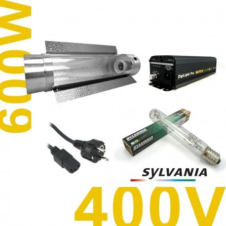 kit-lampe-600-w-electro-400-volt-promax-600-w-grolux-cooltube