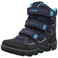 Hi-Tec Boys' Thunder Waterproof Junior High Rise Hiking Boots