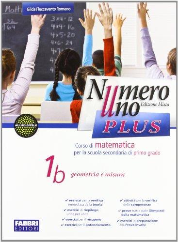 Numero uno plus. Con Sfide matematiche-Informatiche. Per la Scuola media. Con CD-ROM. Con espansione online: 1