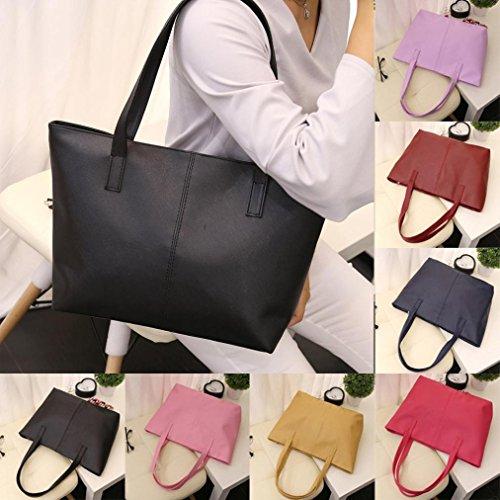 f153f9ef6a10b TUDUZ Handtasche Große Damen Elegant Umhängetasche Schultertasche PU Leder  Hobo Tasche Damen Handtasche für Frauen Dunkelblau