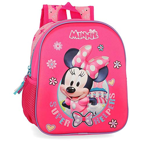 Disney Super Helpers Zainetto per bambini 25 centimeters 5.25 Rosa