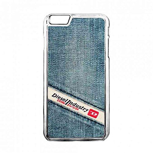 Transparente Apple Iphone 6sPlus Diesel Jeans Carcasa Funda,Marca Logo Diesel Carcasa,Clear Iphone 6sPlus Diesel Carcasa, Tpu Silicona Diesel Carcasa
