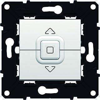 Arnould ARN51009 individuelle Schalter für Rolladen Raum Evolution Stück, weiß