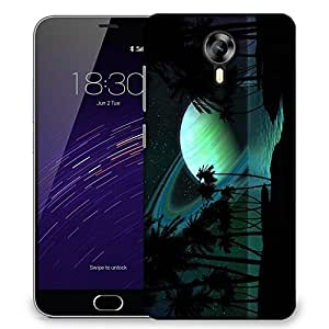 Snoogg Eclipse View Designer Protective Phone Back Case Cover For Meizu M2