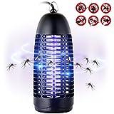 Greatever Elektrischer Insektenvernichter, Insektenfalle Ungiftig Geruchlos, Geräuscharm und Effektiv Gegen Mücken