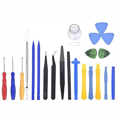 Profi Reparatur Werkzeug Set Tool kit für Handy und Smartphone, URAQT Öffnung Werkzeug Tools Kit für iPhone iPad Handy oder andere Kleingeräte