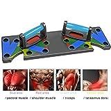 StageOnline 9-en-1 Tablero de Flexiones formación Sistema, Junta de Soporte Push Up para Fitness, Entrenamiento, Ejercicio de Gimnasia (Fuerza y Acondicionamiento)