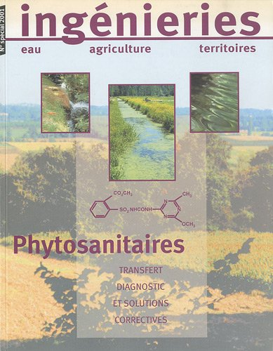 Phytosanitaires. transfert, diagnostic et solutions correctives