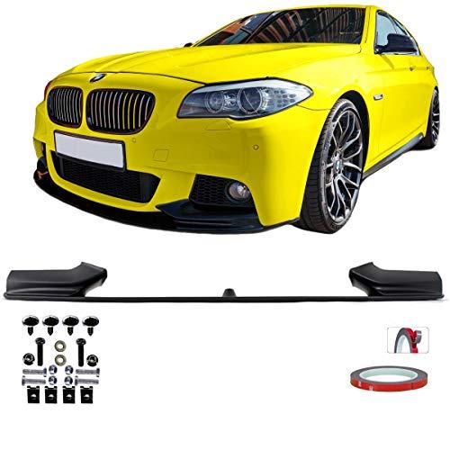 DM Autoteile Sport Performance Frontspoiler kompatibel zu 5er F10 F11 M-Paket ABE