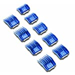 Andis Plastic Blade Comb Sets, 9 Pieces, Small 8