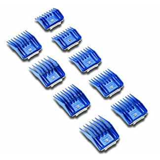 Andis Plastic Blade Comb Sets, 9 Pieces, Small 21