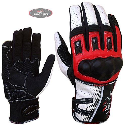 Motorradhandschuhe Sommer Motorrad Motocross Handschuhe von PROANTI - Größe L