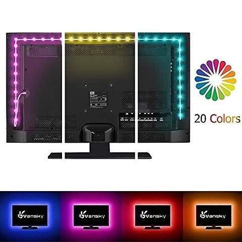 Vansky® 2M LED rétro-éclairage TV pour HDTV / PC Gaming