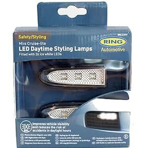 Adaptatifs LED feux diurnes Ring Automotive - chacun avec 3 LED