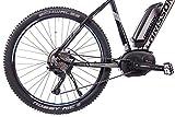 CHRISSON 27,5 Zoll Pedelec E-Bike E-Mountainbike E-MOUNTER 3.0 mit 10G DEORE XT BOSCH PLINE CX und Powerpack500 schwarz matt - 3