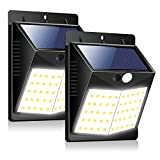 Solar Lights Outdoor ZOYJITU 50 LED Solar Motion Sensor Lights, IP65 Waterproof Solar