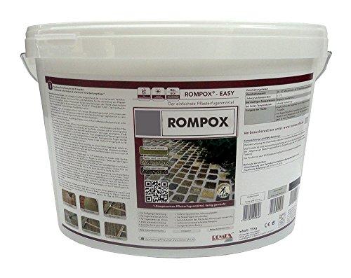Romex Pflasterfugenmörtel ROMPOX EASY 15kg-Eimer BASALT (3,53€/kg)
