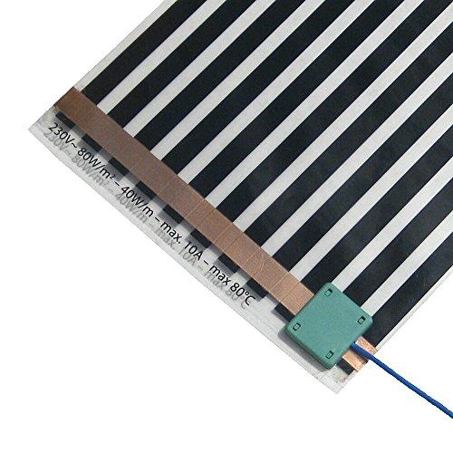 Elektrische Folienheizung HoWaTech LUX 9,5m (4,75m²)