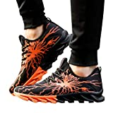 Men Fashion Lightning Running Shoes Outdoor Leisure Shoes Breathable Sports Shoe