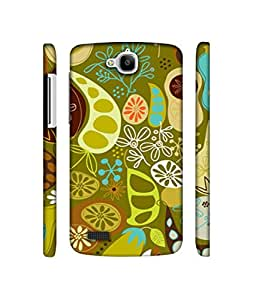 NattyCase Vegetables Pattern Design 3D Printed Hard Back Case Cover for Huawei Honor Holly