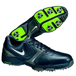 2013 Nike Lunar Saddle Herren Golfschuhe ** New Out** Black/Silver/Grey/volt 44 UK