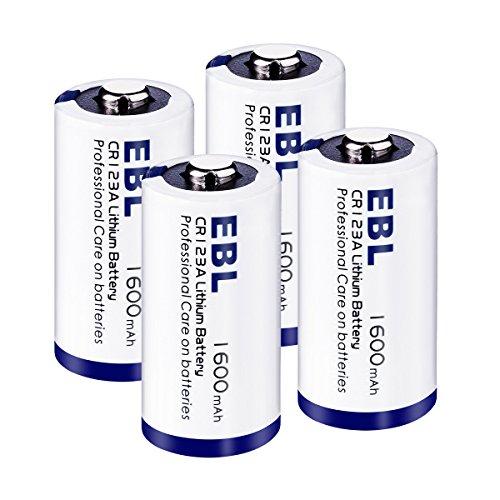 Baterías recargables CR123A