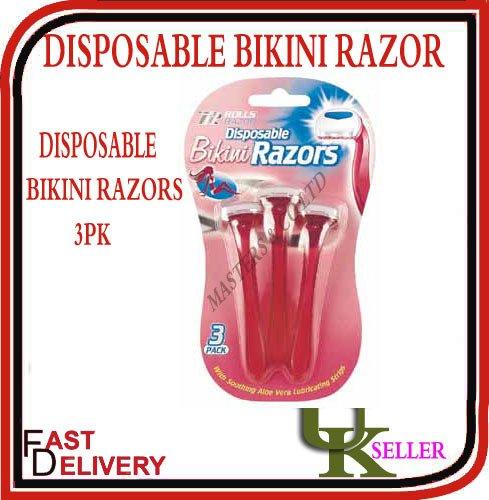 Desposable Bikini Rasiermesser 3er-Pack