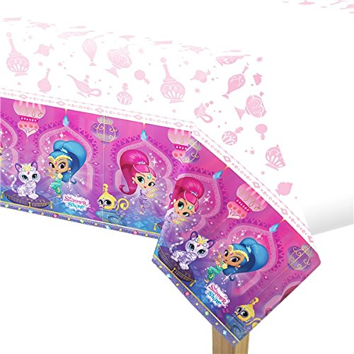 Shimmer and Shine Plastic Table Cover (1ct) by Shimmer and