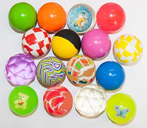 20 Flummis Ball Bunt 45 mm Groß Springball Hüpf Ball