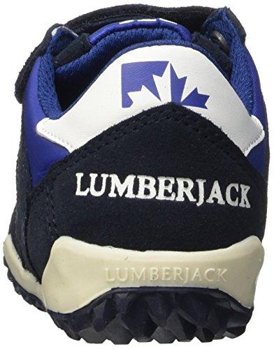 Lumberjack Knife, Pompes à plateforme plate mixte enfant Bleu (Cc001 Navy Blue)