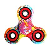 Crysle 7 color lancette luminose spinner finger Fidget Toy stress reducer perfetto per aggiungere, ADHD autismo, ansia, per adulti bambini, 5