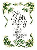 Best Aunt Gifts For Babies - LPG Greetings Irish Baby Decor, Green/White/Black Review