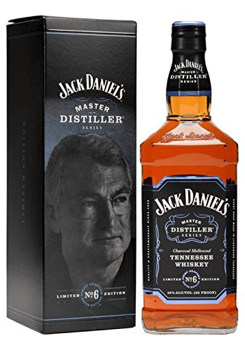 Club Master (Jack Daniel's Tennessee Whiskey - 43% Vol. - Master Distiller Serie No. 6 - limited Edition)